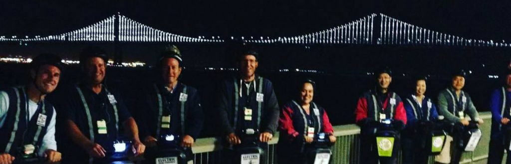 Night Segway Group Tour - San Francisco waterfront