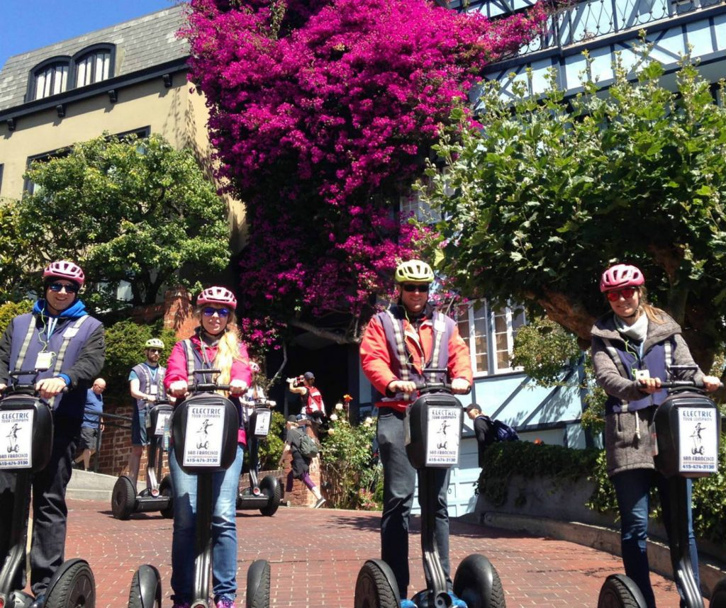 Lombard Street Group Segway Team Building Tour San Francisco CA