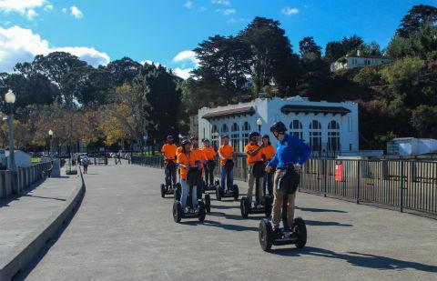 Segway Team Bulding Scavenger Hunt in San Francisco