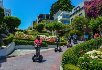 Peivate Segway Tours in San Francisco for 2 to 10 guests