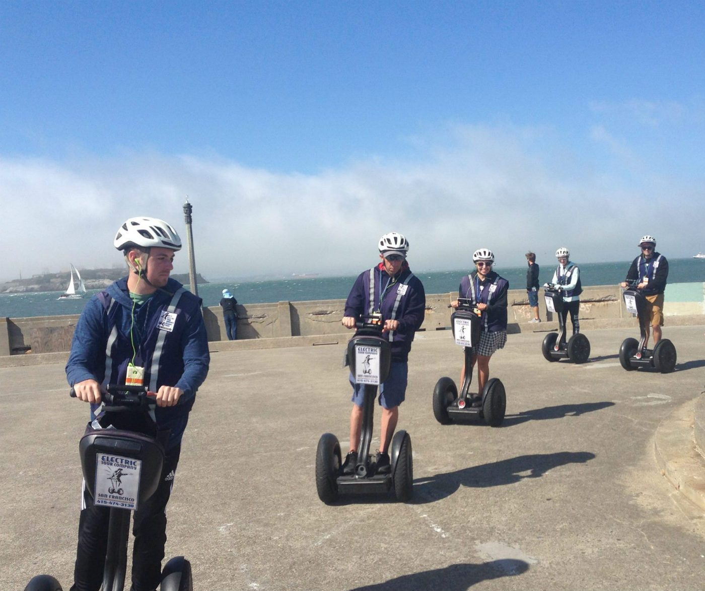 Segway and Electric Scooter Team Building